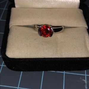 Beautiful red ring!